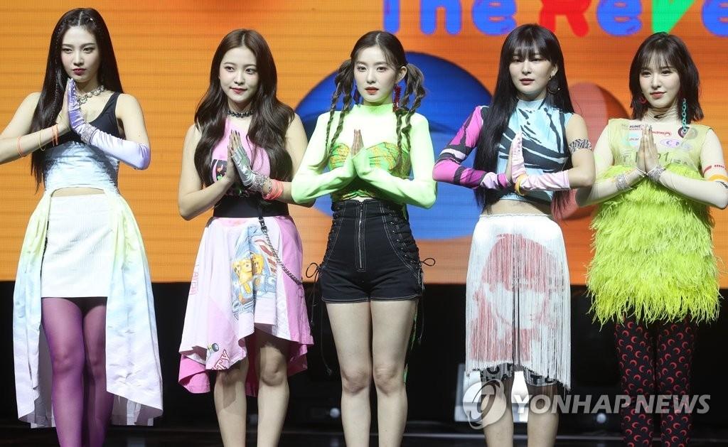 资料图片:Red Velvet 韩联社