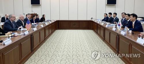 韩美举行第11份防卫费分担协定第五轮谈判