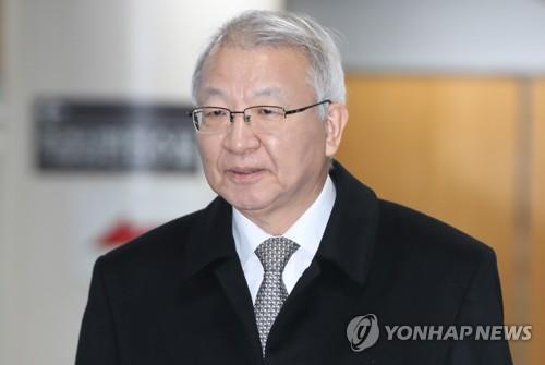 资料图片:韩国前大法院院长梁承泰 韩联社