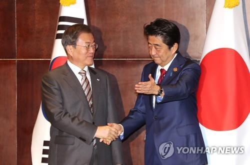 详讯:韩日领导人商定对话解决强征劳工问题