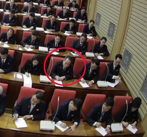 朝鲜祖平统委员长李善权现身劳动党全会