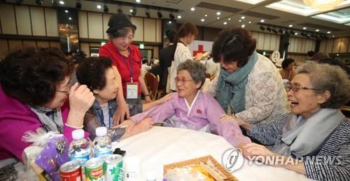 韩政府:明年将积极支持韩朝离散家属民间交流