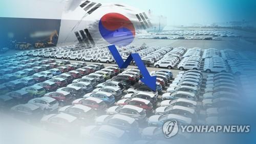 韩国五大整车厂商去年销量同比减3.8%