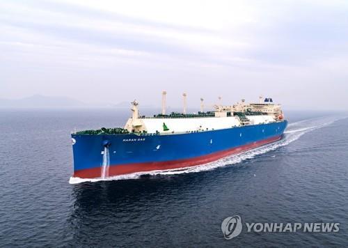 韩造船厂订单量连续两年居全球第一