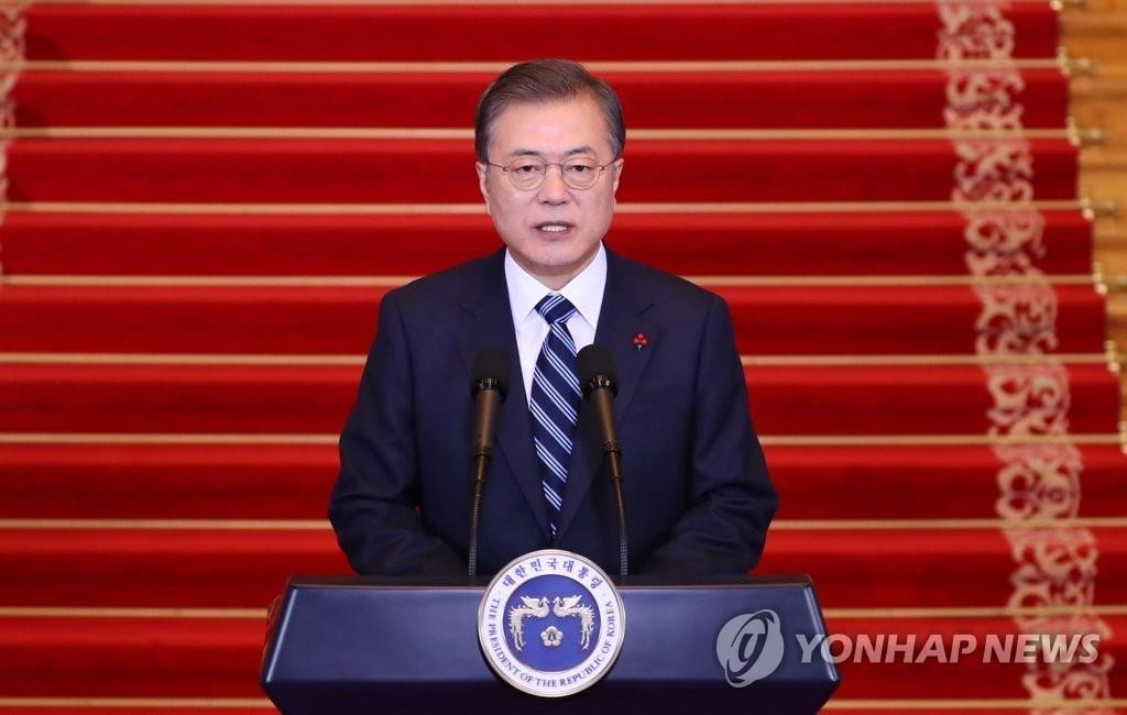 详讯:文在寅发表新年词吁韩朝合力促成金正恩访韩
