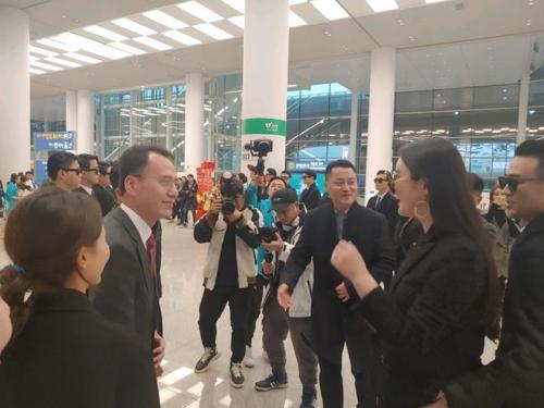 中国5000名奖励旅游团访韩 为2017年来最大规模
