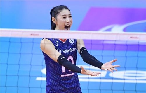 韩国女排3比0完胜泰国连续三届挺进奥运