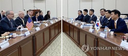 韩美防卫费谈判韩方代表启程赴美