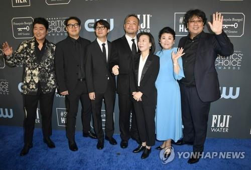 《寄生虫》获评论家选择奖最佳导演和外语片奖
