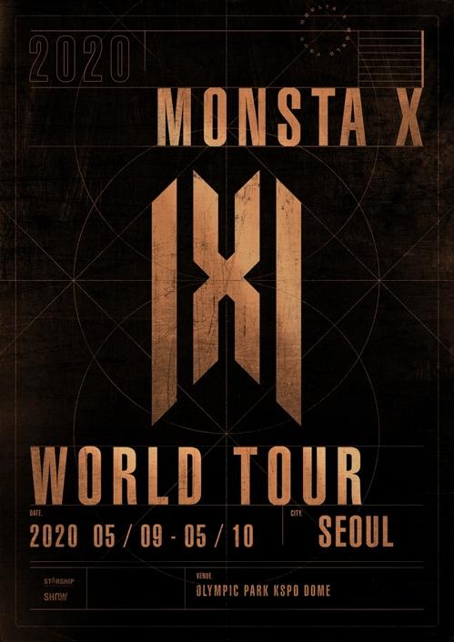 MONSTA X五月开启第四次世界巡演