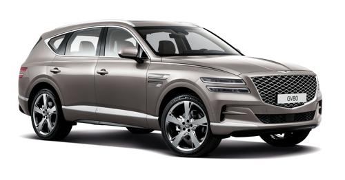 """捷尼赛思发布首款SUV""""GV80"""""""