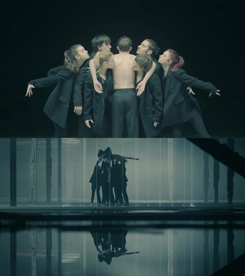 防弹少年团《Black Swan》艺术片 Big Hit娱乐供图(图片严禁转载复制)