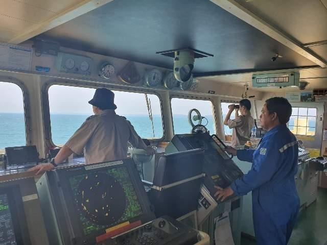 载有韩国船员被扣印尼的一运输船获释