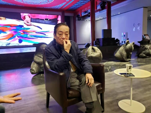 中国艺术大师韩美林:有意在韩办现代美展