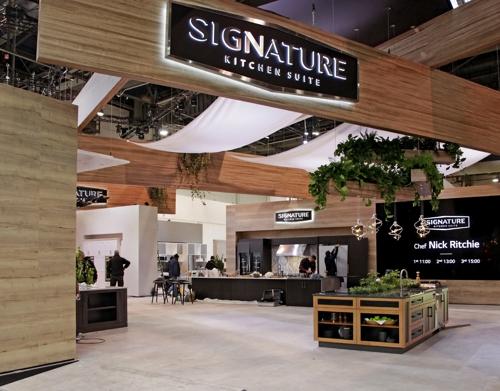 三星LG产品亮相2020美国国际厨卫展