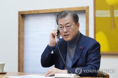 韩总统表示24小时响应新冠肺炎疫情