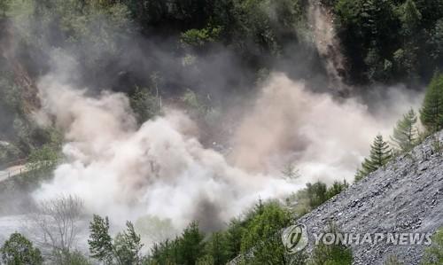 朝鲜丰溪里核试验场附近再现天然地震