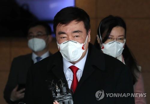 中国新任驻韩大使邢海明抵韩