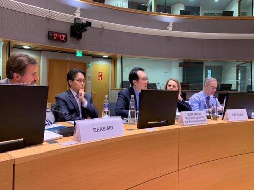 韩对朝代表与欧盟各国讨论半岛局势