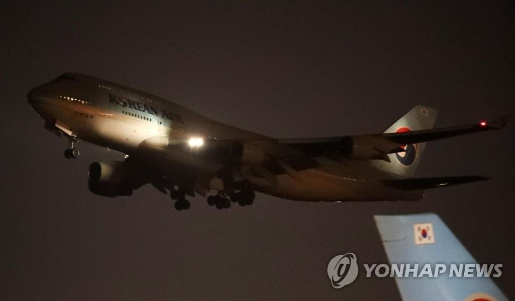 详讯:韩国第二架撤侨包机启程飞赴武汉