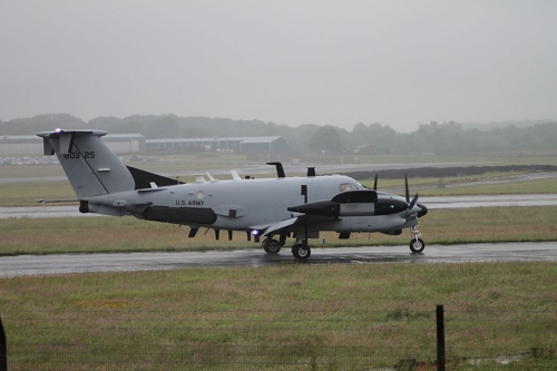 美军特种侦察机飞临韩半岛或监视朝鲜疫情