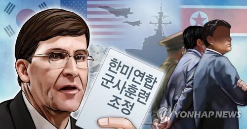 韩国防部:韩美未曾讨论推延同盟演习