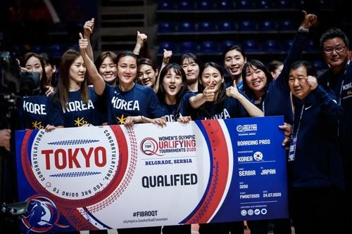 韩国女篮时隔12年晋级奥运会
