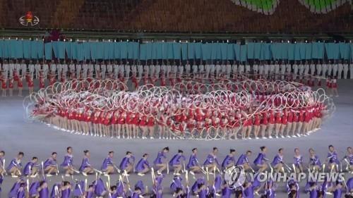高丽旅行社:朝鲜今年光复节和建党日将上演团体操