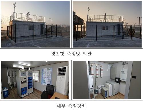 韩国在港口海岸建站监测境外空气污染物流入