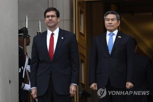 韩美因新冠疫情考虑缩小联合军演