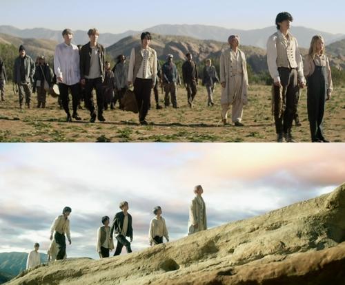 防弹少年团新辑主打歌《ON》第二版MV公开