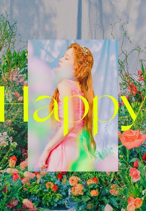 资料图片:《Happy》封面 SM娱乐供图(图片严禁转载复制)