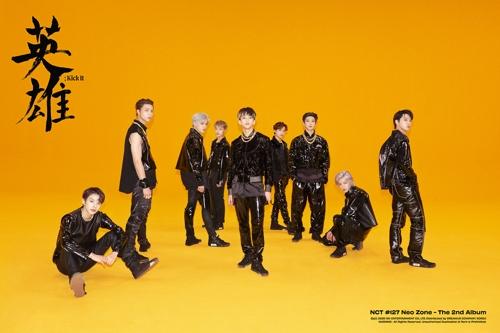 NCT127新专辑预售量超50万张
