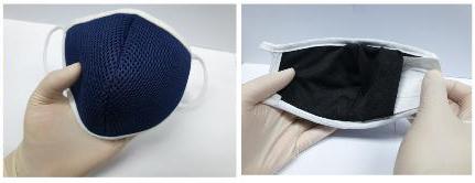 纳米材料口罩 KAIST供图(图片严禁转载复制)