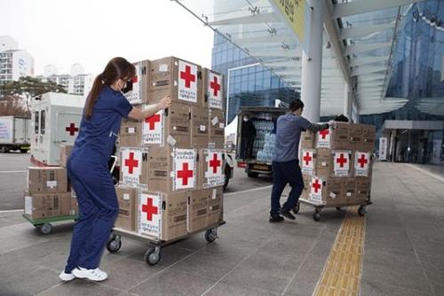首尔医疗院收到马云捐赠的口罩