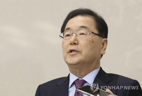 韩青瓦台召开国安常委会商讨凝聚全球抗疫力量