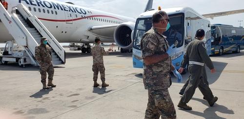 韩国撤侨包机从秘鲁起飞