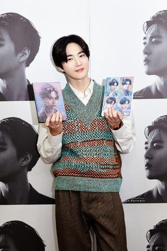 EXO成员SUHO 韩联社/SM娱乐供图(图片严禁转载复制)