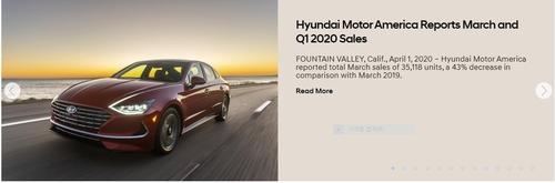 现代汽车3月在美销量同比减43%