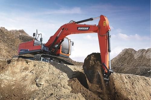 韩国斗山工程机械在华售出32台挖掘机