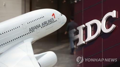 HDC现代产业与韩亚航空合并业务在华获准