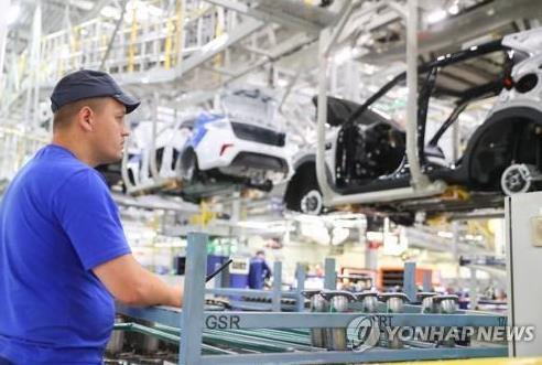 现代汽车俄罗斯工厂重启生产
