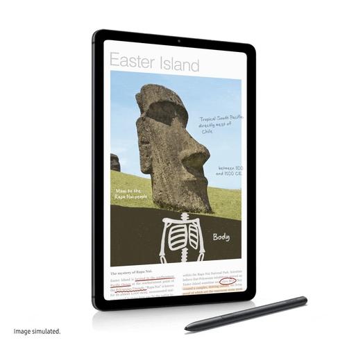 三星电子新款平板电脑Galaxy Tab S6 Lite 三星电子新闻演播室供图(图片严禁转载复制)
