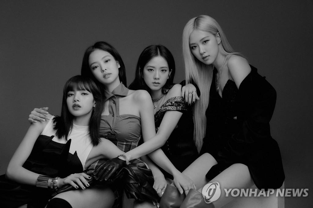 BLACKPINK 韩联社/YG娱乐供图(图片严禁转载复制