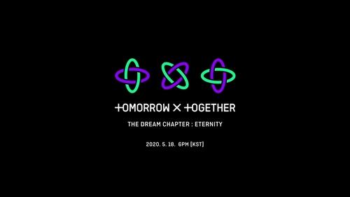 TOMORROW X TOGETHER第二张迷你专辑的动态图形 Big Hit娱乐供图(图片严禁转载复制)