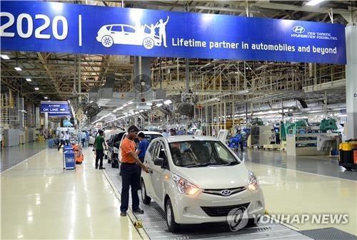 现代汽车印美工厂将于本周复工