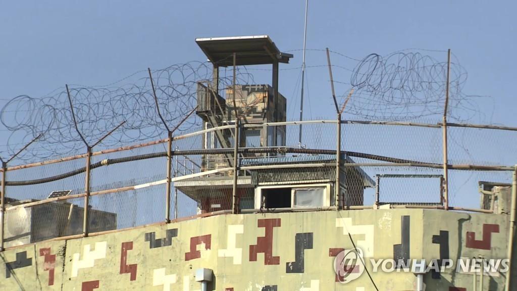 韩军:朝军昨射击韩哨所时使用机枪