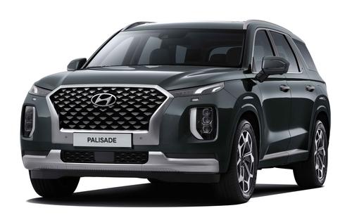 现代汽车2020款帕利塞德面市