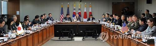 韩美日安全会议明在线举行