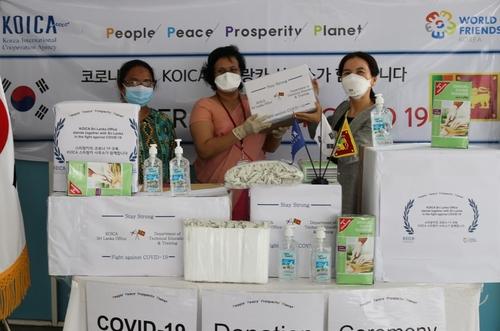 韩国国际合作机构向39国提供防疫物资